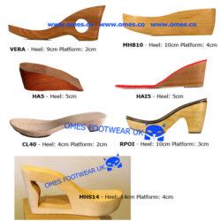 Wooden soles, Holzsohlen, suelas de madera, solas de madeira, drewniane podeszwy, träsulor trä träskor, träsulstillverkare, producent podeszew drewnianych